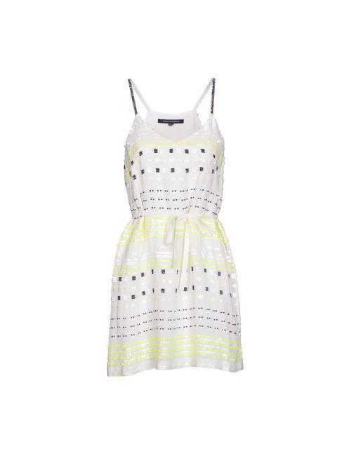 French Connection | Женское Белое Короткое Платье