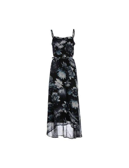 French Connection | Женское Чёрное Длинное Платье