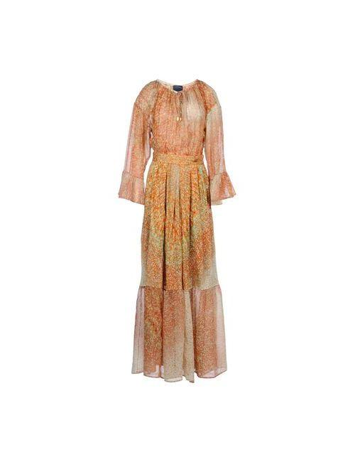 Class Roberto Cavalli   Женское Коричневое Длинное Платье