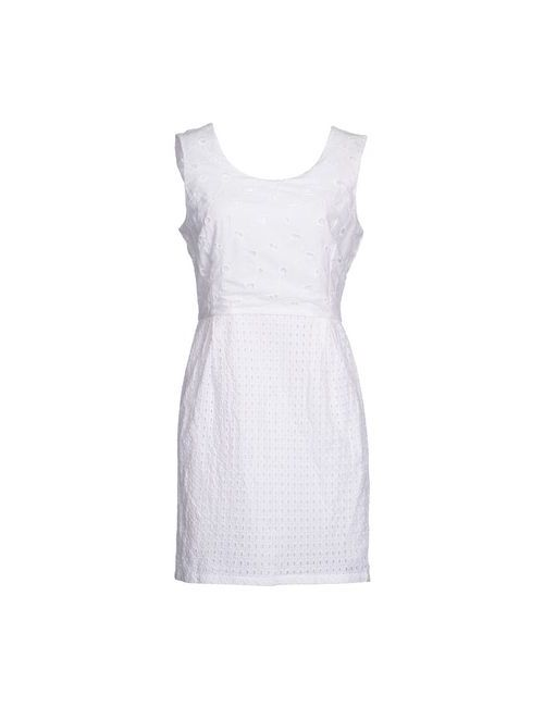 OLIVIA HOPS | Женское Белое Короткое Платье