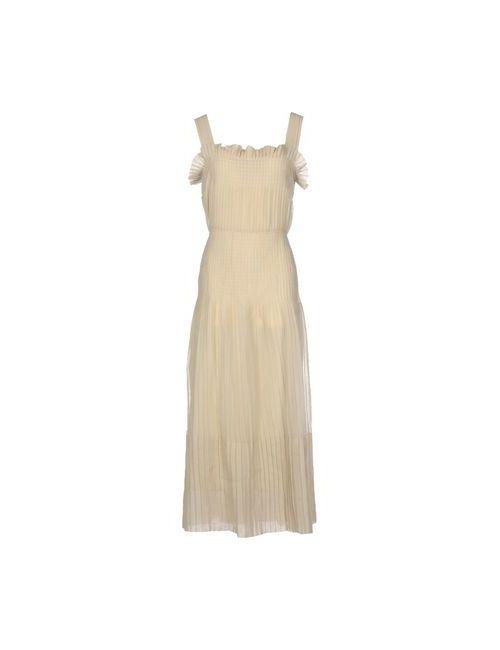 Marni | Женское Бежевое Длинное Платье