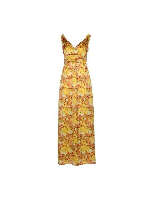H²O Luxury | Женское Жёлтое Длинное Платье