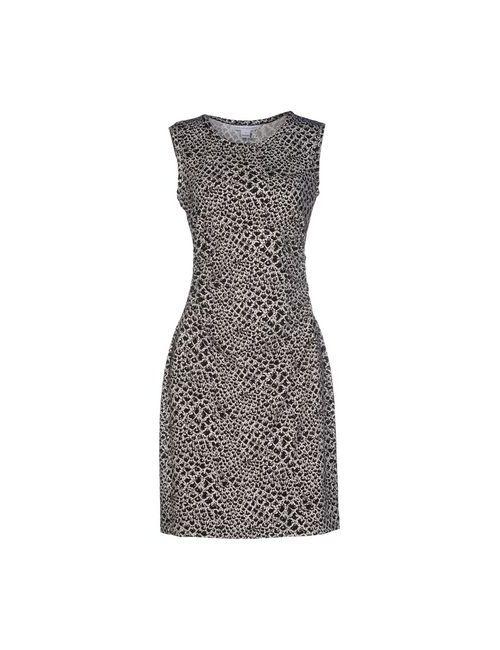 Diane Von Furstenberg | Женское Чёрное Короткое Платье