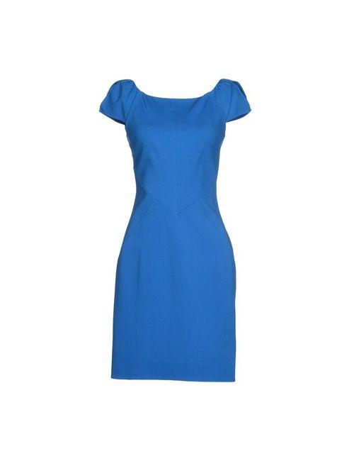 Diane Von Furstenberg | Женское Лазурное Короткое Платье