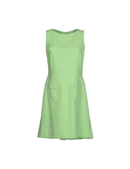 Red Valentino | Женское Зелёное Короткое Платье