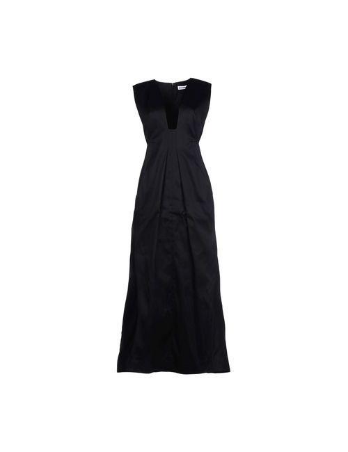 Jil Sander | Женское Черный Длинное Платье