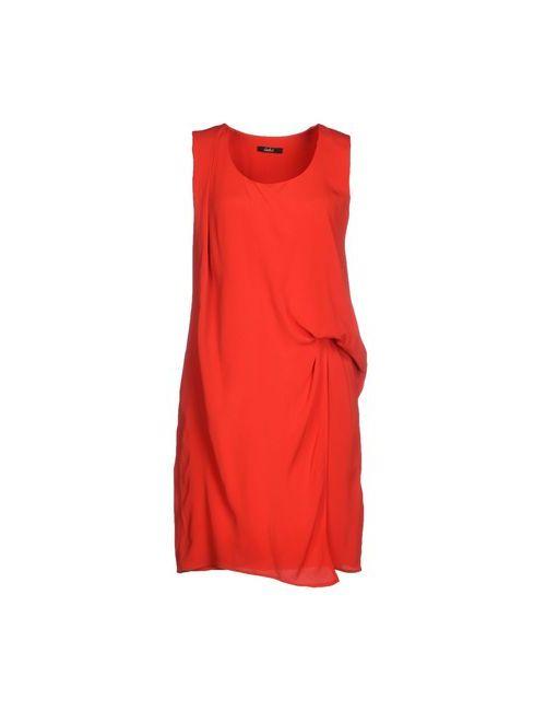 CARLA G. | Женское Красное Короткое Платье