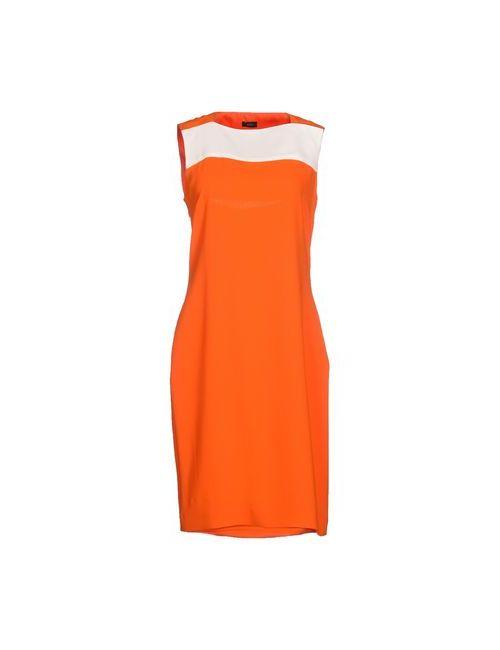 Joseph | Женское Оранжевое Короткое Платье