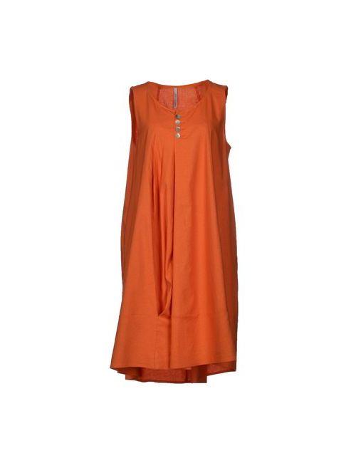 Corinna Caon | Женское Оранжевое Короткое Платье