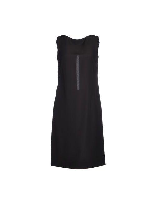 Maison Margiela   Женское Чёрное Платье До Колена