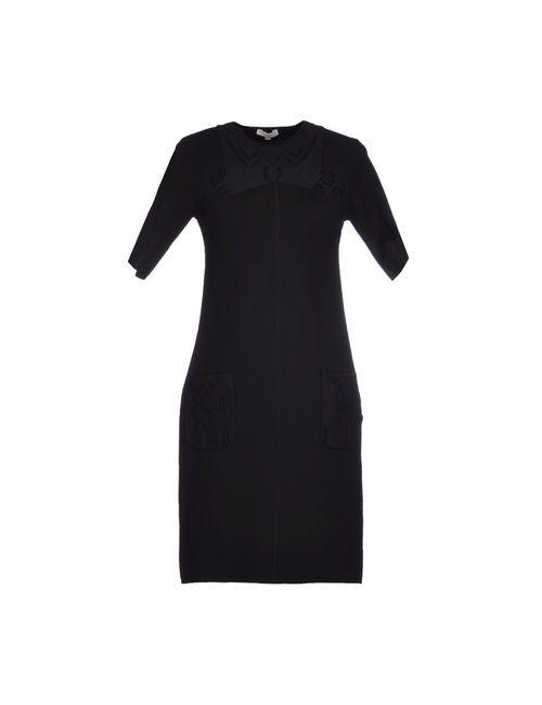 Vicedomini | Женское Черный Короткое Платье