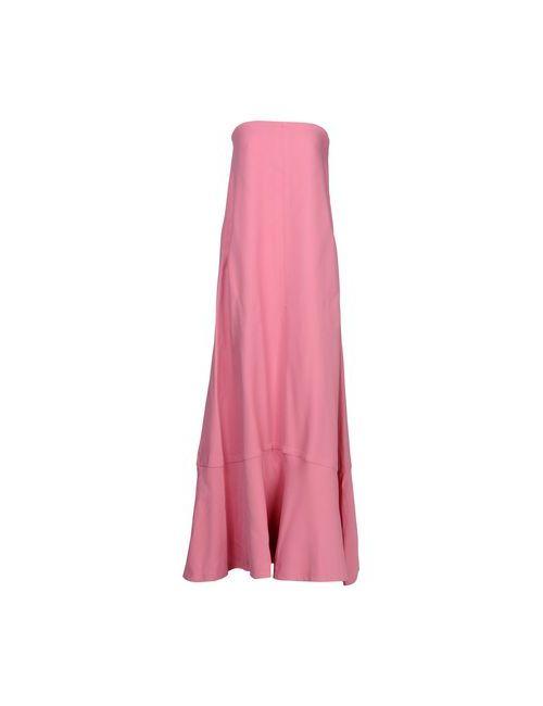 Valentino   Женское Фиолетовое Длинное Платье