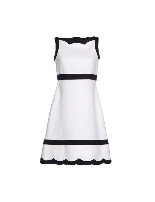 Valentino | Женское Белое Короткое Платье