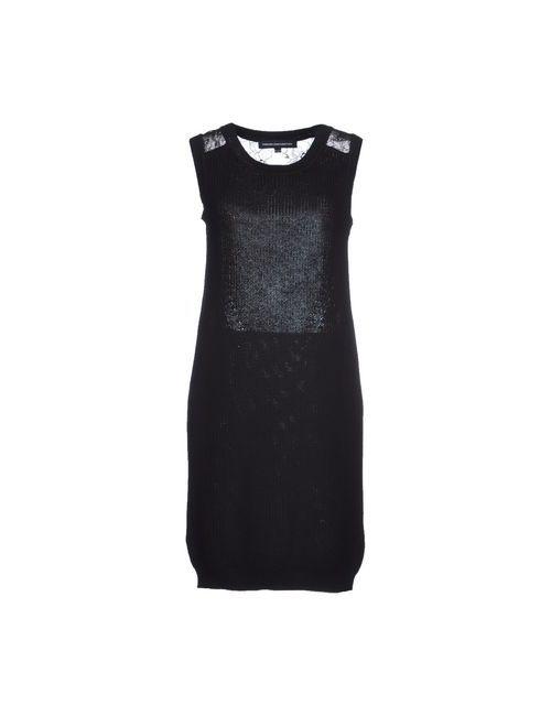 French Connection | Женское Чёрное Короткое Платье