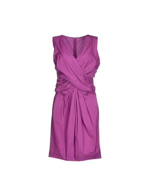 Ermanno Scervino | Женское Фиолетовое Короткое Платье