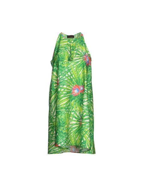 Jo No Fui | Женское Зелёное Короткое Платье