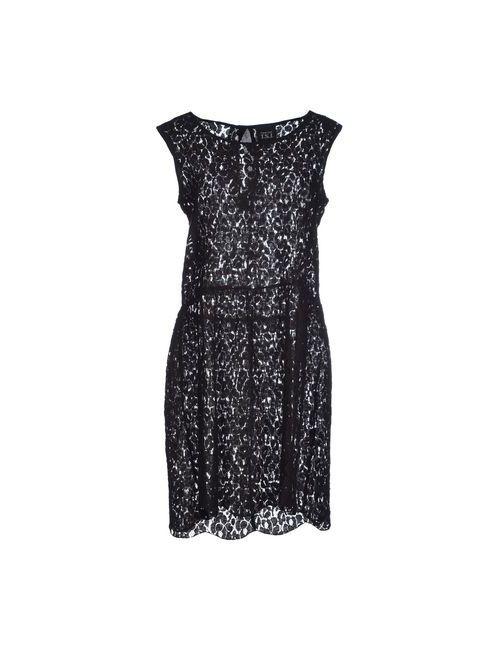 Twin-Set Jeans | Женское Чёрное Короткое Платье