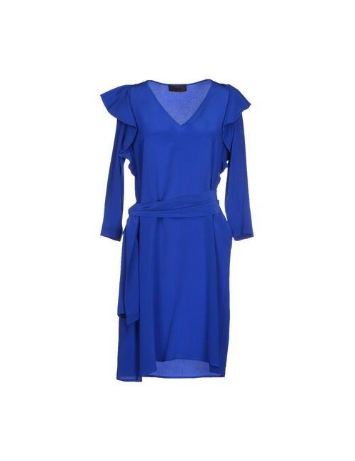 Jo No Fui | Женское Синее Короткое Платье