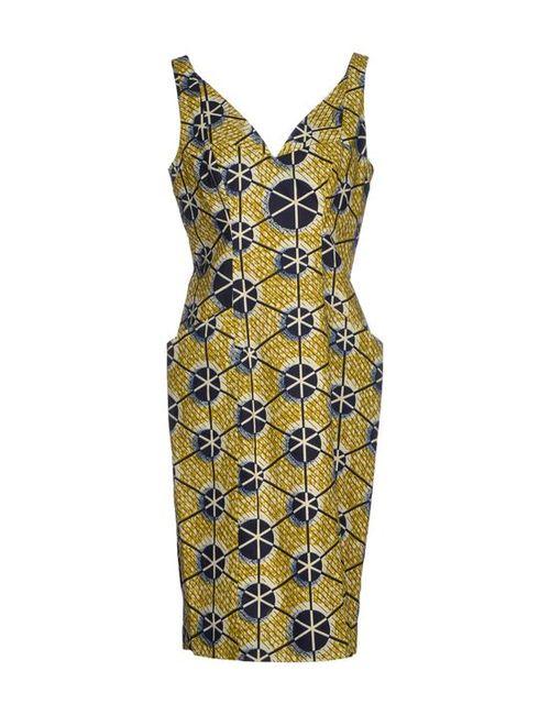 Stella Jean | Женское Платье До Колена