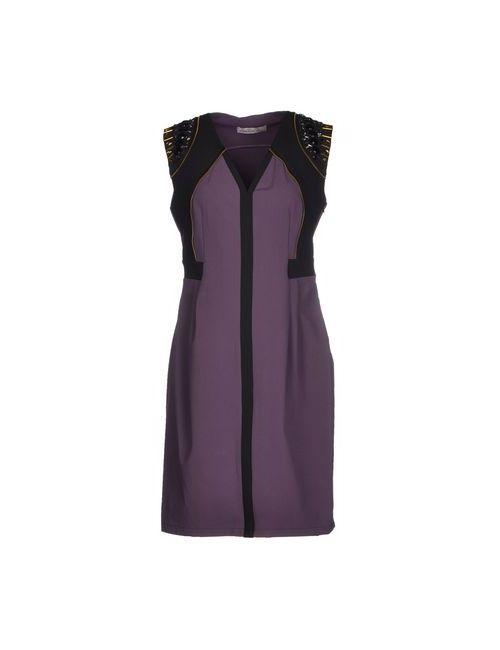 Annarita N. | Женское Фиолетовое Короткое Платье
