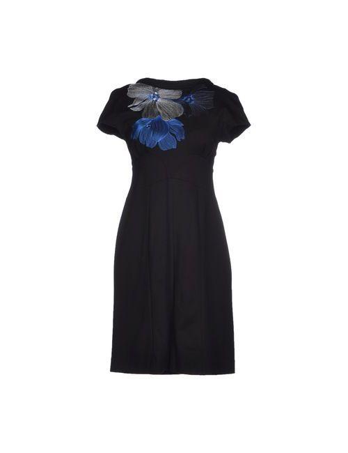 Didier Parakian | Женское Чёрное Короткое Платье