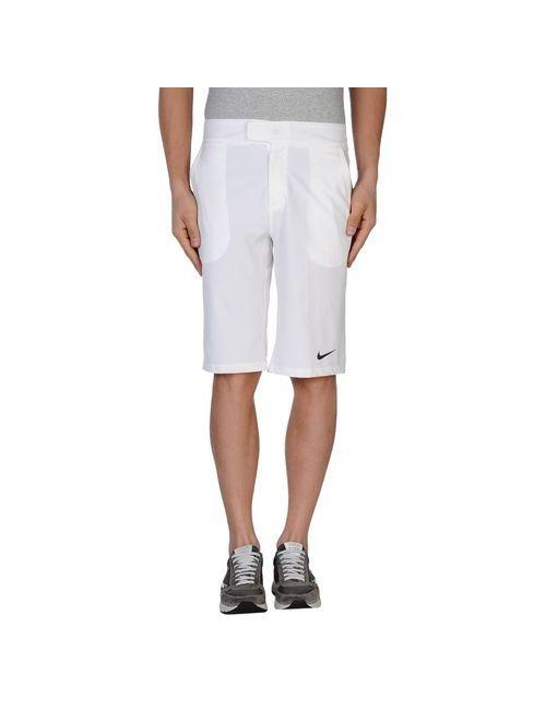Nike   Мужские Белые Бермуды