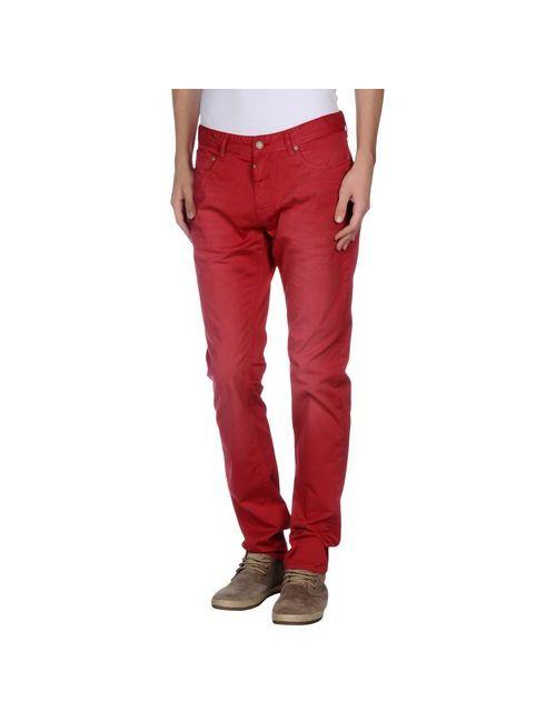 Pepe Jeans | Мужские Красные Повседневные Брюки