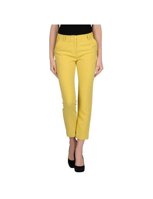 Coccapani Trend | Женские Жёлтые Повседневные Брюки