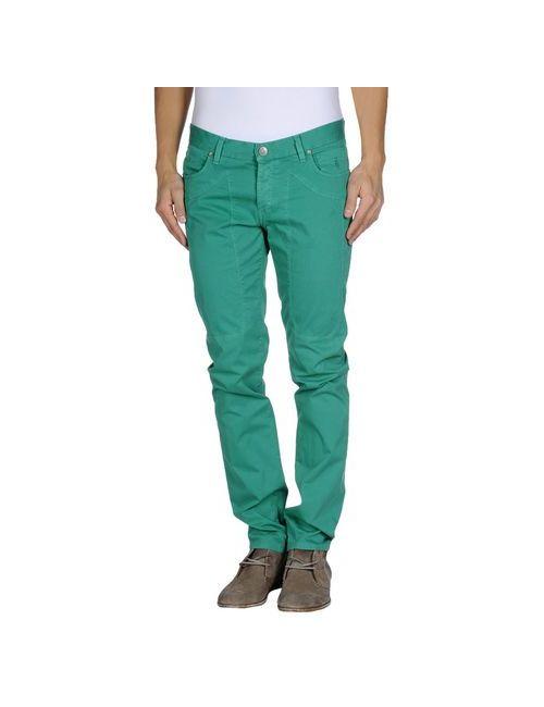 Jeckerson   Мужские Зелёные Повседневные Брюки