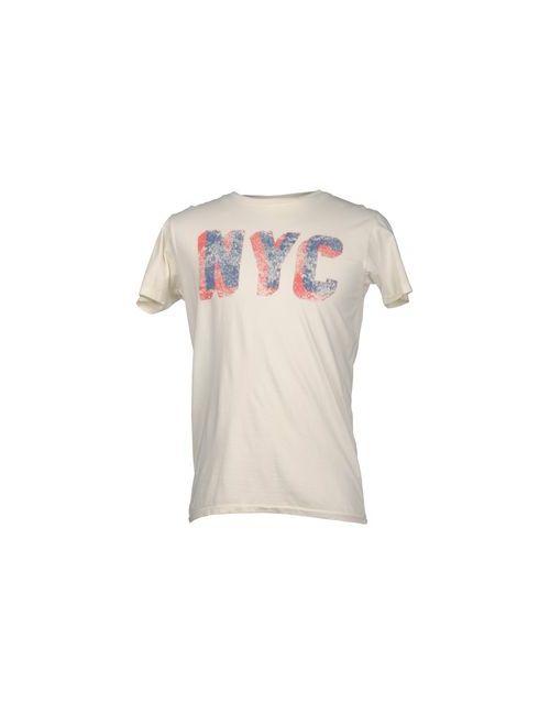 Bowery | Мужская Слоновая Кость Футболка С Короткими Рукавами