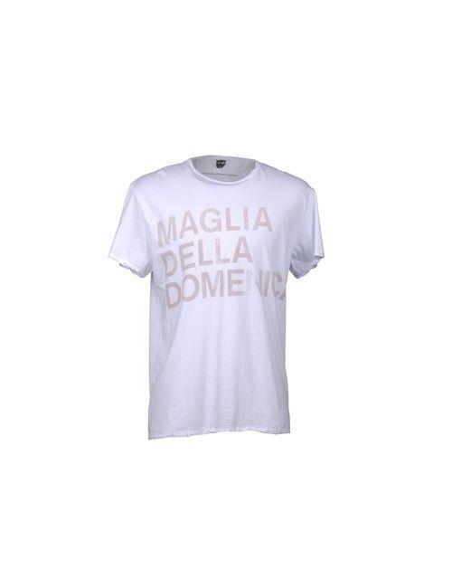 The Casual Approach By Maglia | Мужская Белая Футболка С Короткими Рукавами