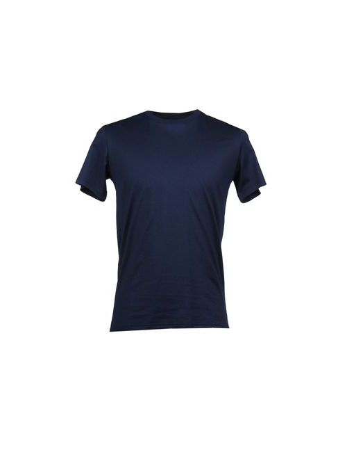 John Richmond Beachwear | Мужская Синяя Футболка С Короткими Рукавами