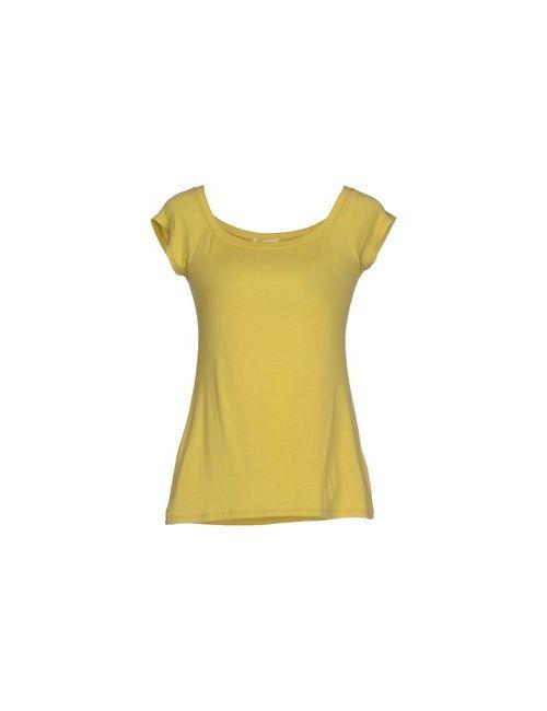 Agatha Cri | Женская Жёлтая Футболка