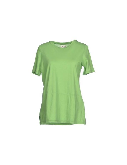 Douuod | Женская Зелёная Футболка