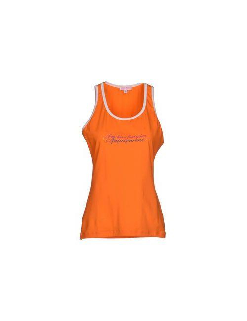 Frankie Morello Sexywear | Мужская Оранжевая Майка