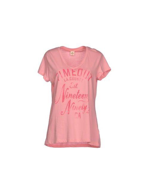 TimeOut | Женская Розовая Футболка