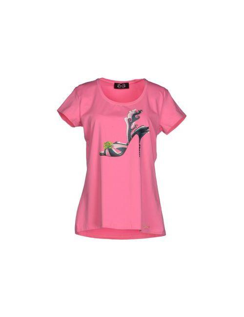 Ean 13 | Женская Розовая Футболка