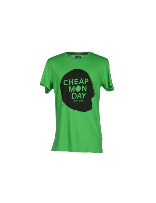 Cheap Monday | Мужская Зелёная Футболка