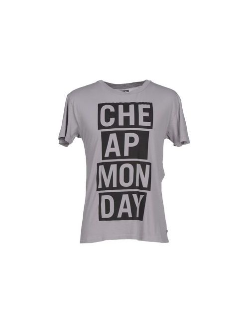 Cheap Monday | Мужская Серая Футболка