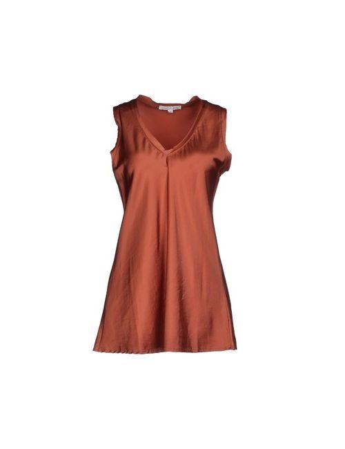 Shirt C-Zero | Женский Красный Топ Без Рукавов