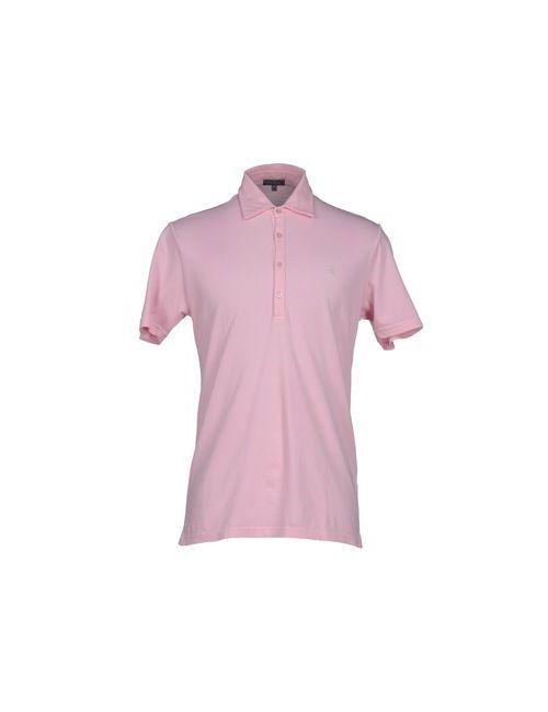Macchia J | Мужское Розовое Поло