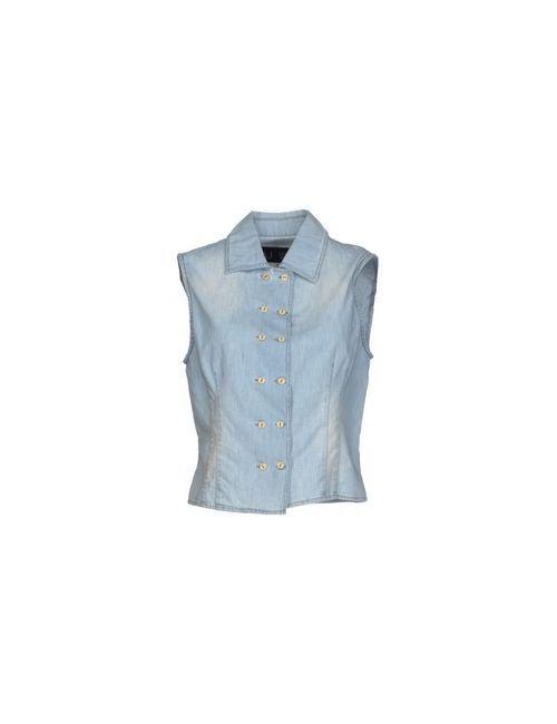 ARMANI JEANS | Женская Синяя Джинсовая Рубашка