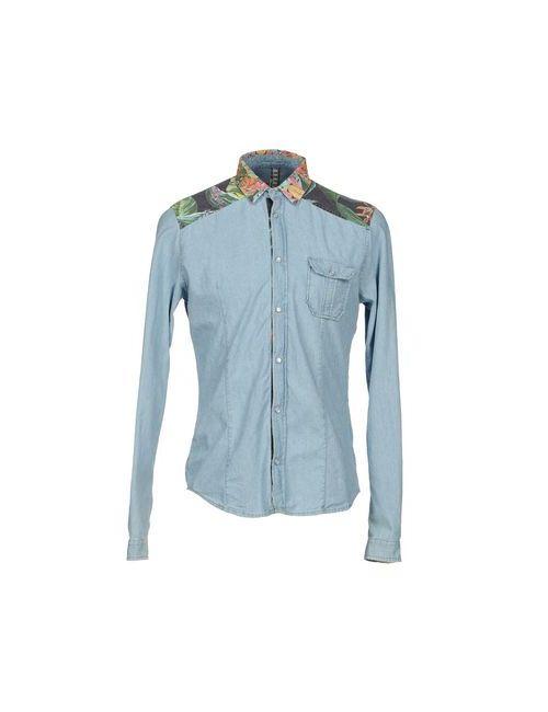Berna | Мужская Джинсовая Рубашка