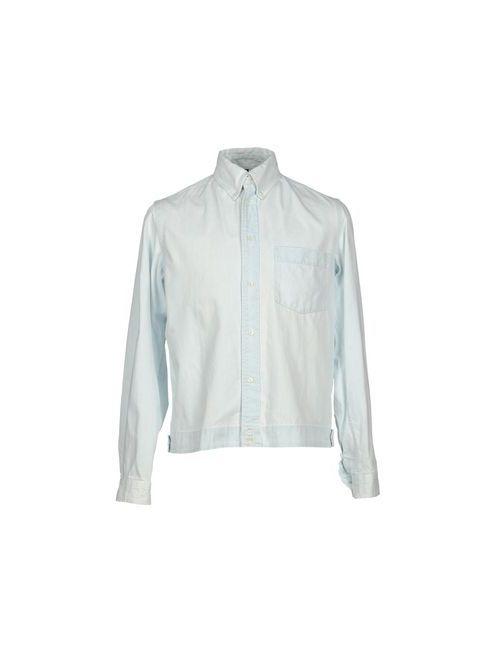 Dondup | Мужская Синяя Джинсовая Рубашка