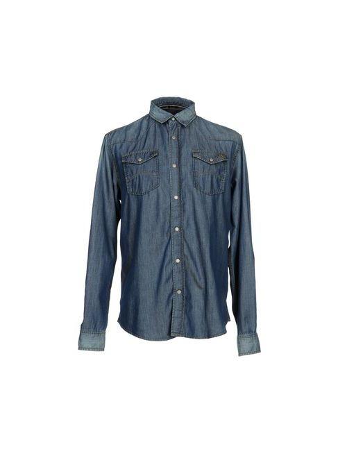 ARMANI JEANS | Мужская Джинсовая Рубашка