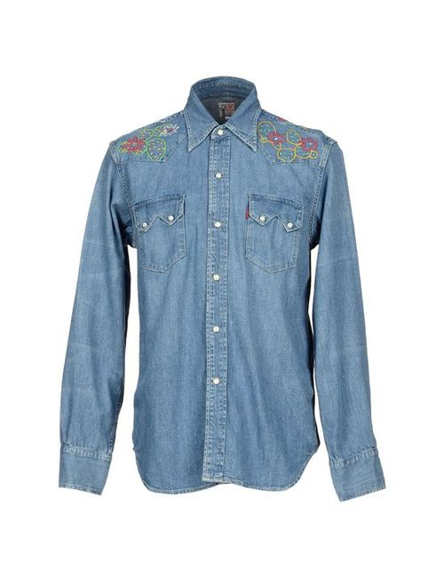 Levi'S Red Tab | Мужская Джинсовая Рубашка