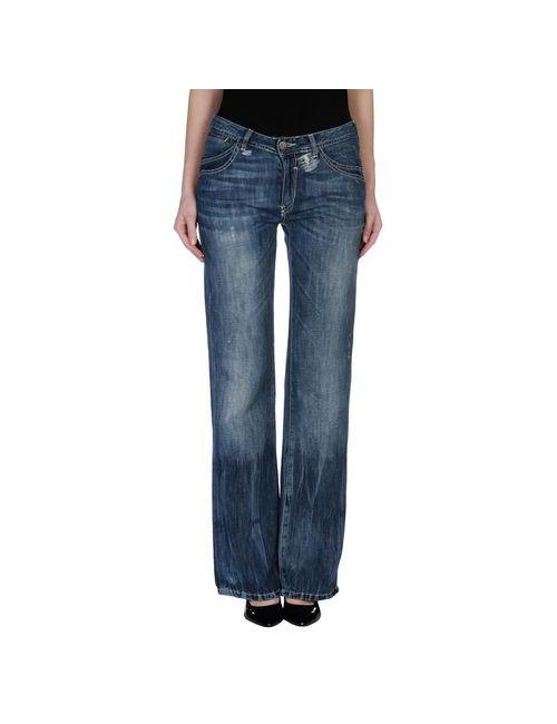 Gaudì Jeans & Style | Женские Синие Джинсовые Брюки