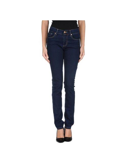 Versace Jeans | Женские Синие Джинсовые Брюки