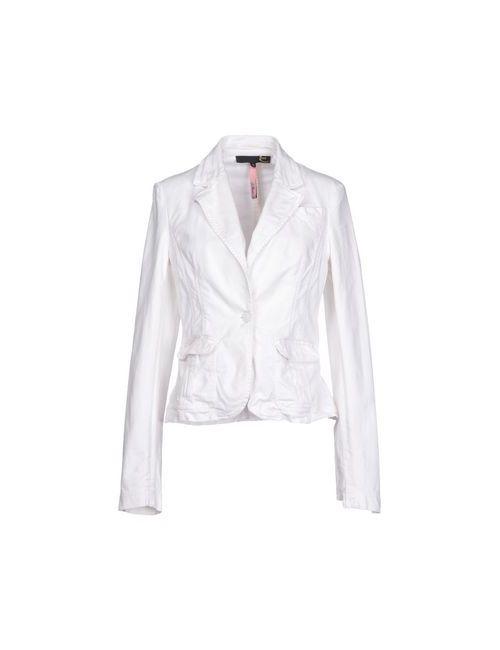 Just Cavalli | Женская Белая Джинсовая Верхняя Одежда