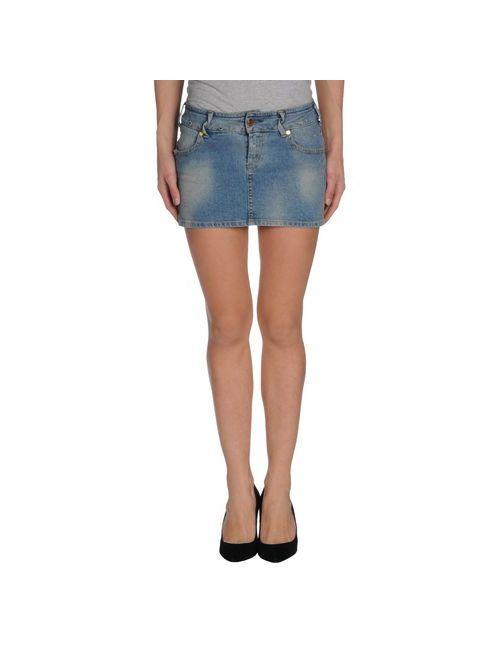 Met In Jeans | Женская Синяя Джинсовая Юбка